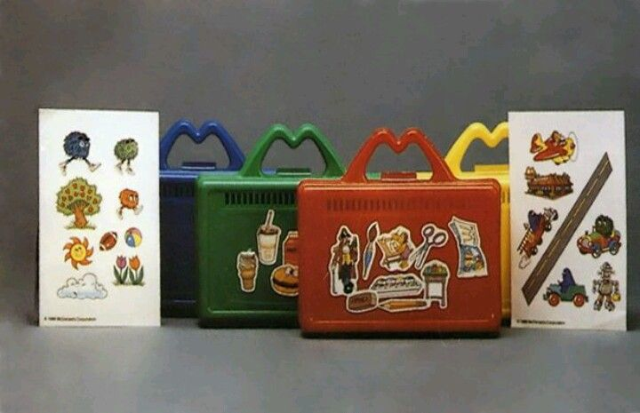 Micky D's Lunch Boxes