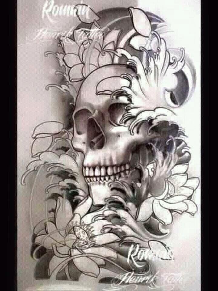Sin Titulo Ideas Tatuajes Calaveras 459 Japan Tattoo Design Skull Tattoo Design Body Art Tattoos