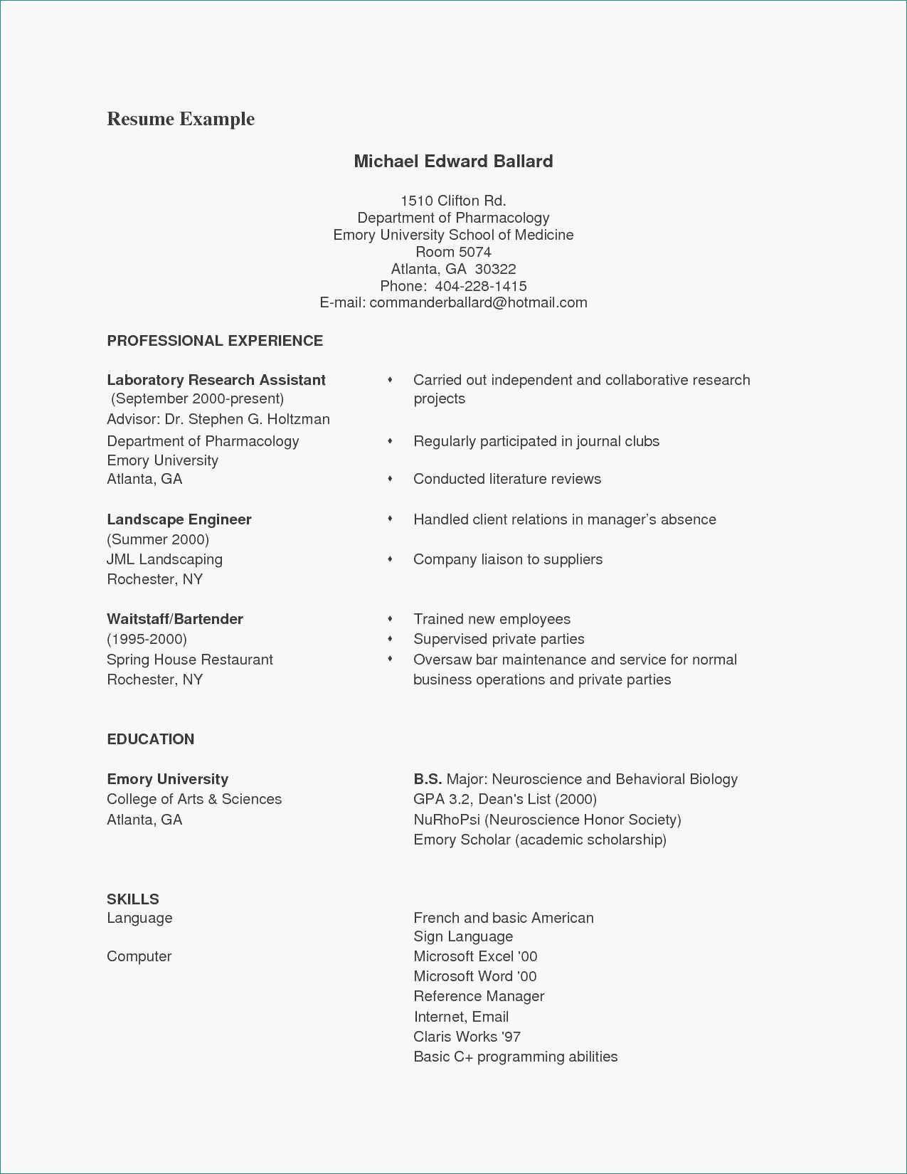 Resume Template Modern & Professional Resume Template