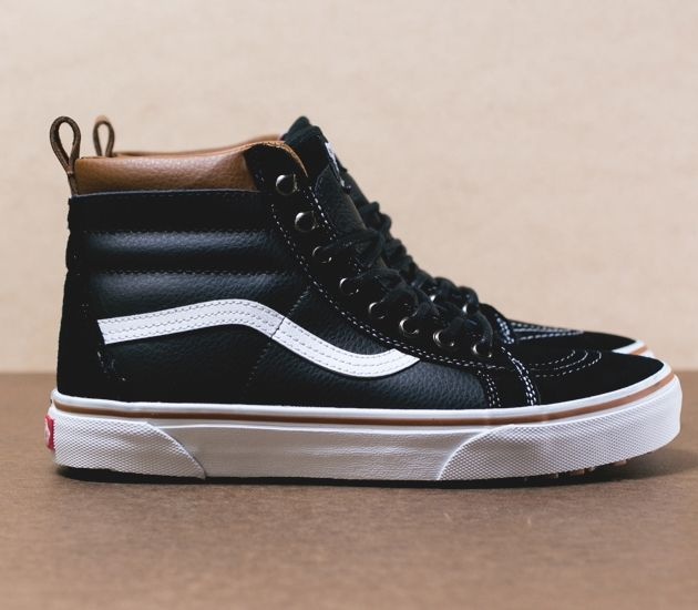 vans winter sneakers