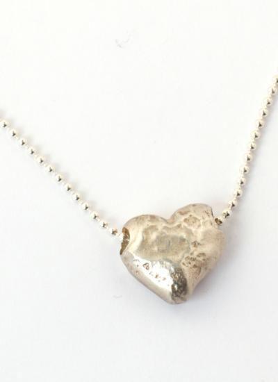Heart Rocks necklace.  Stunning!