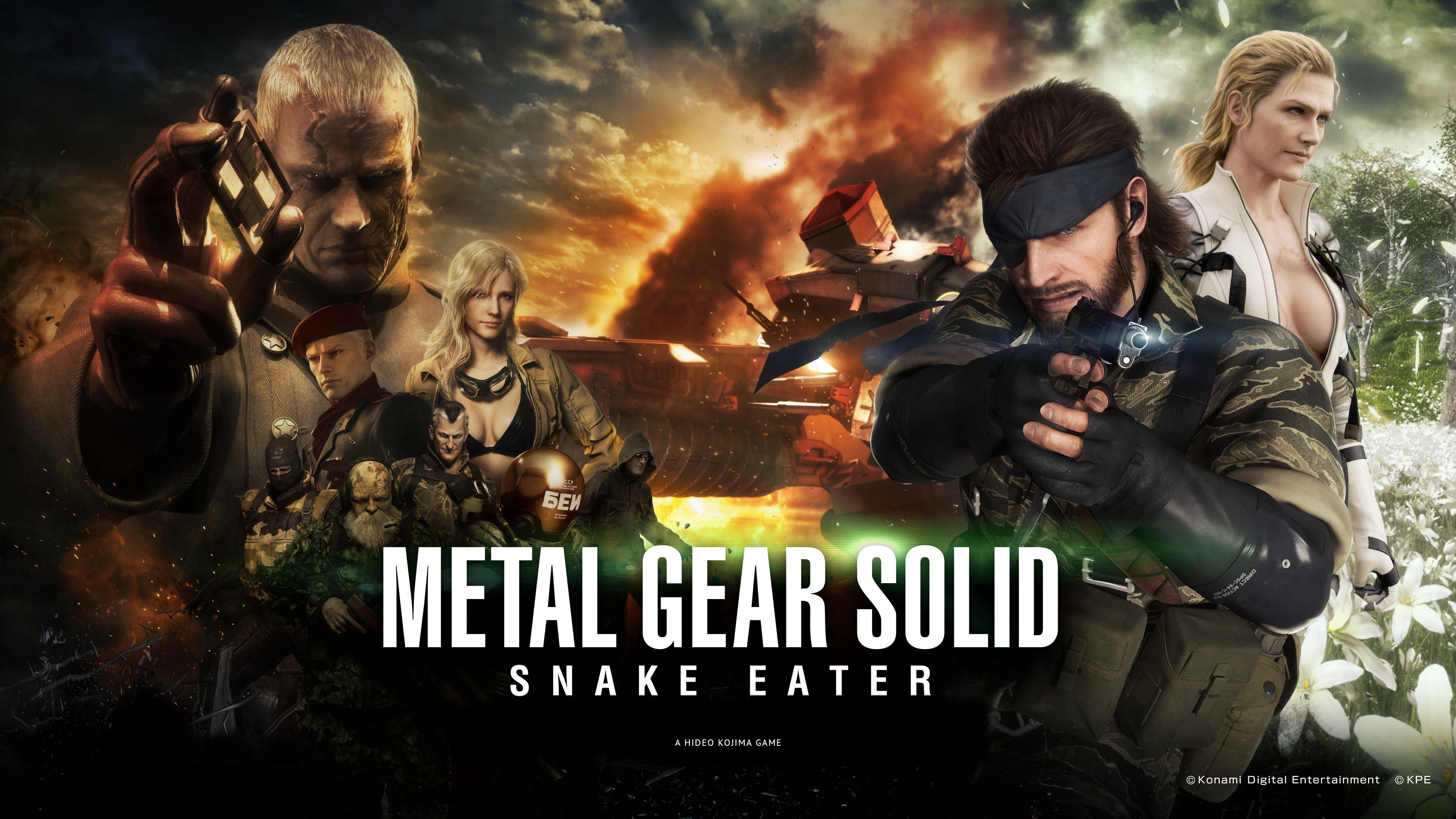 Metal Gear Solid Snake Eater Pachislot Wallpaper MetalGearSolid Mgs MGSV MetalGear Konami Cosplay PS4 Game MGSVTPP