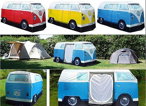 VW Kombi Van tent & VW Kombi Van tent | Tents Vw kombi van and Volkswagen