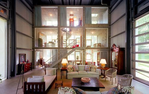 I Especially Like This Shipping Container House Because The Rooms Look Like A Dollhouse =)