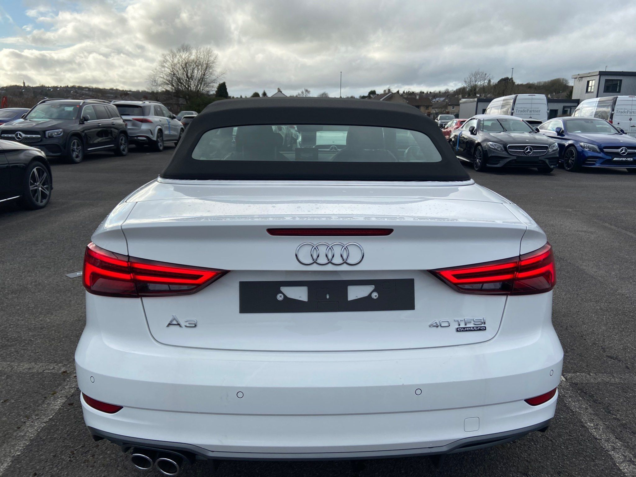 Audi A3 Cabriolet 2.0 Tfsi 40 S Line Cabriolet S Tronic