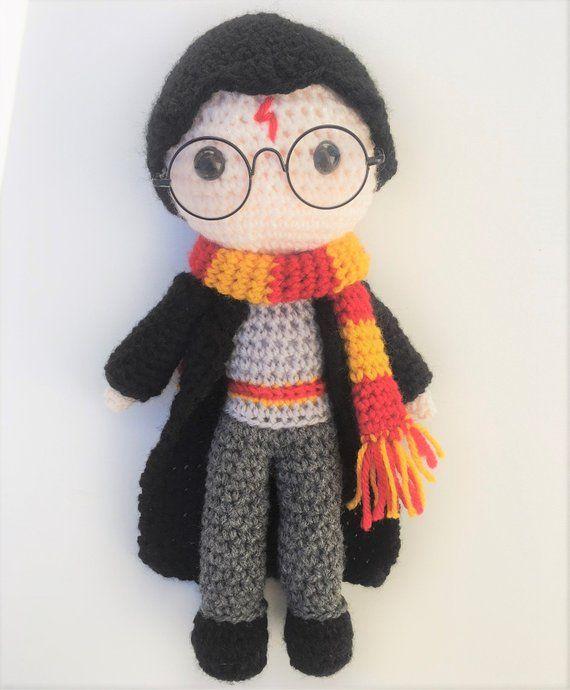 Harry Potter Amigurumi Crochet Pattern