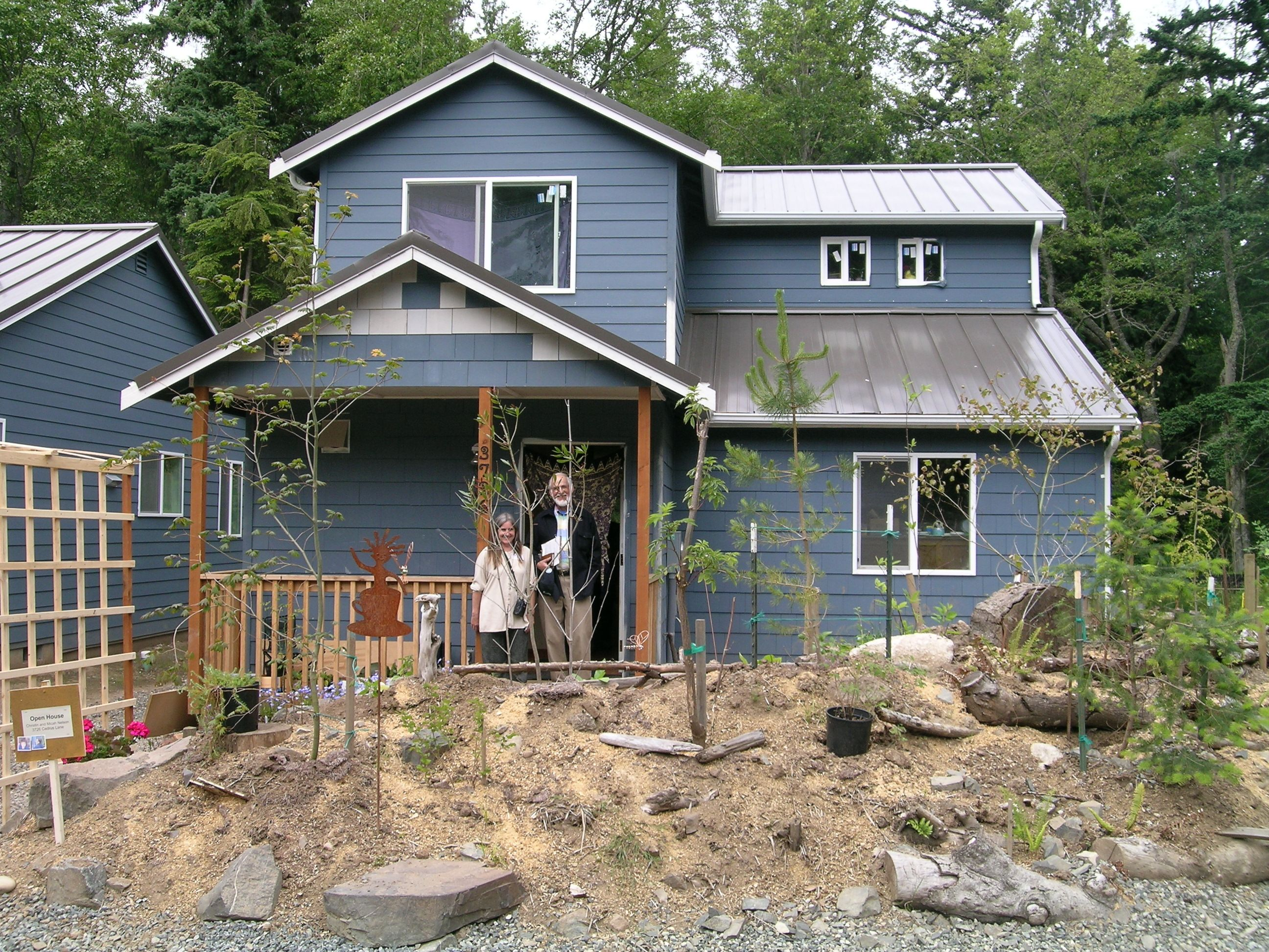 Each Lummi Island Community Land Trust Homeowner Participated In Building Their Own Home To Lower Their Down Payment And Cr Lummi Island House Styles Homeowner