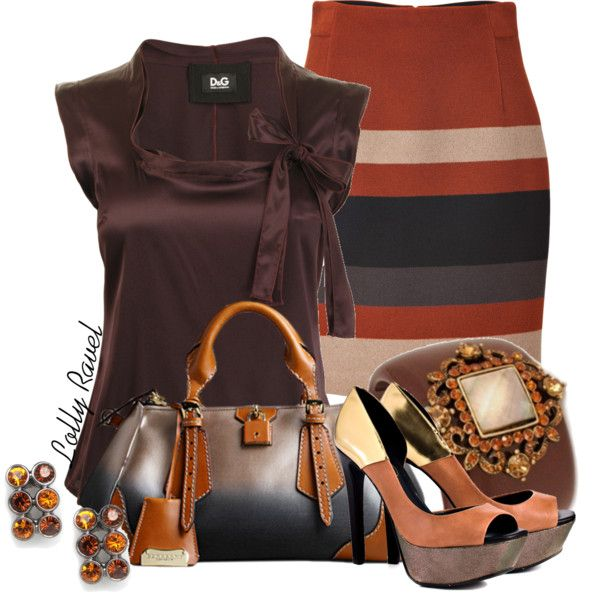 """Cinnamon and Caramel"" by lolly-ravel ❤ liked on Polyvore"