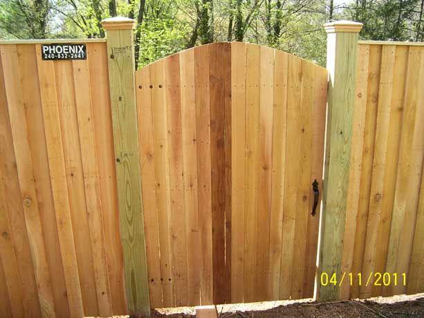 Fence Gates Phoenix Fence And Deck Gaithersburg Md Fence