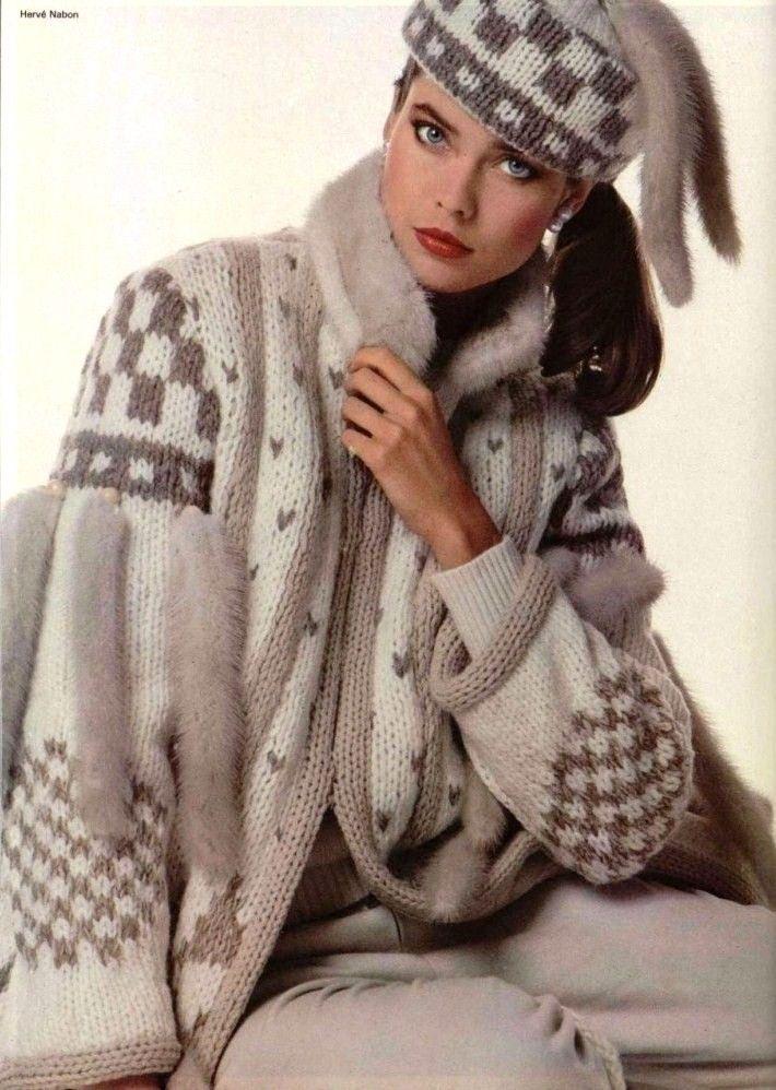Louis Feraud 1980s (с изображениями) | Модели, Мода ...