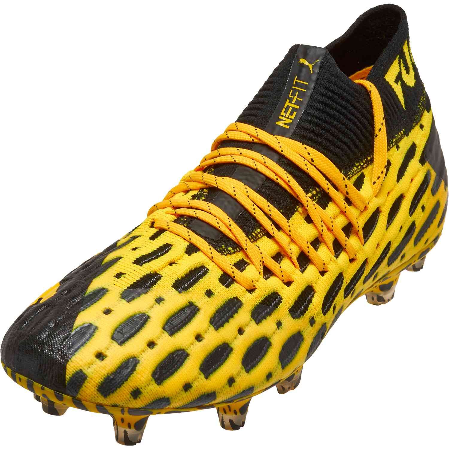 Puma Future 5 1 Fg Spark Pack Soccerpro In 2020 Best Soccer Shoes Puma Football Boots Soccer Boots