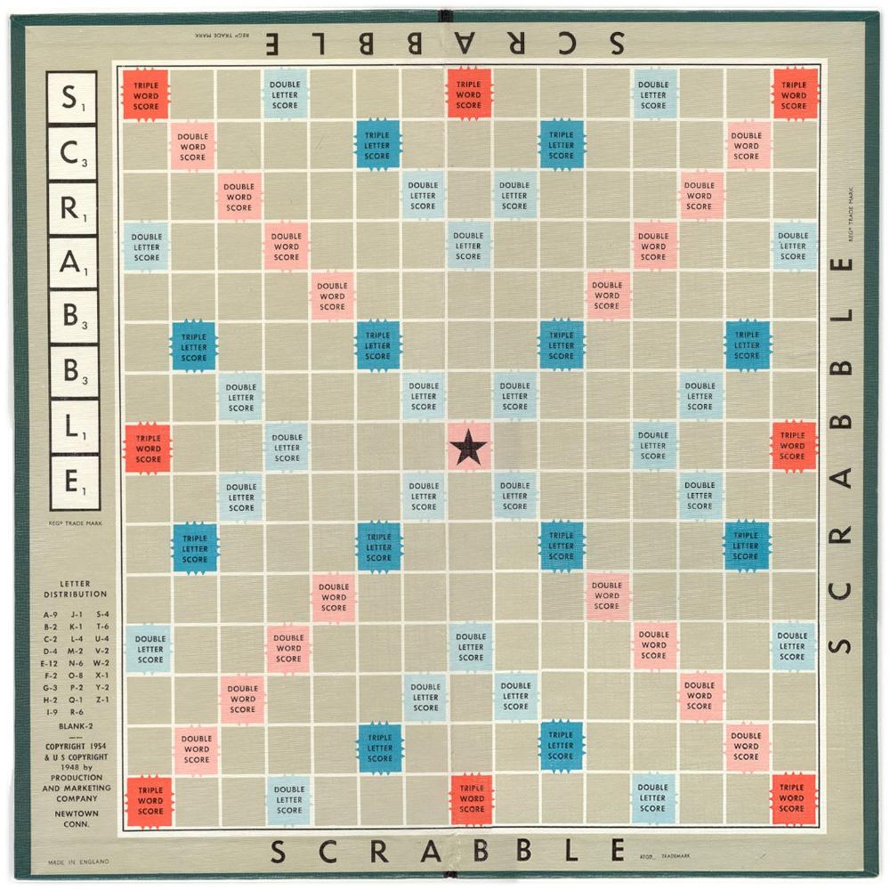 Scrabble Jeu de plateau original