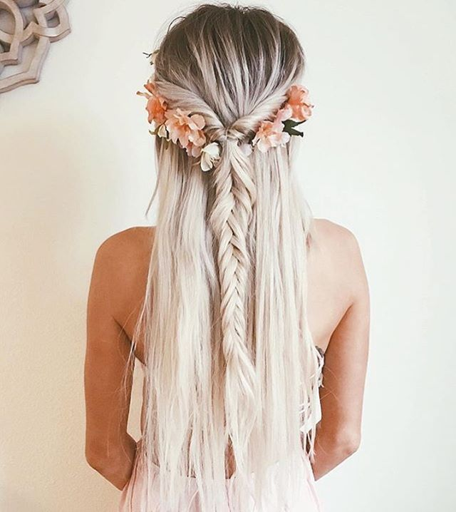 美しい@emilyrosehannon#hair #hairinspo #hairspiration #boho ...