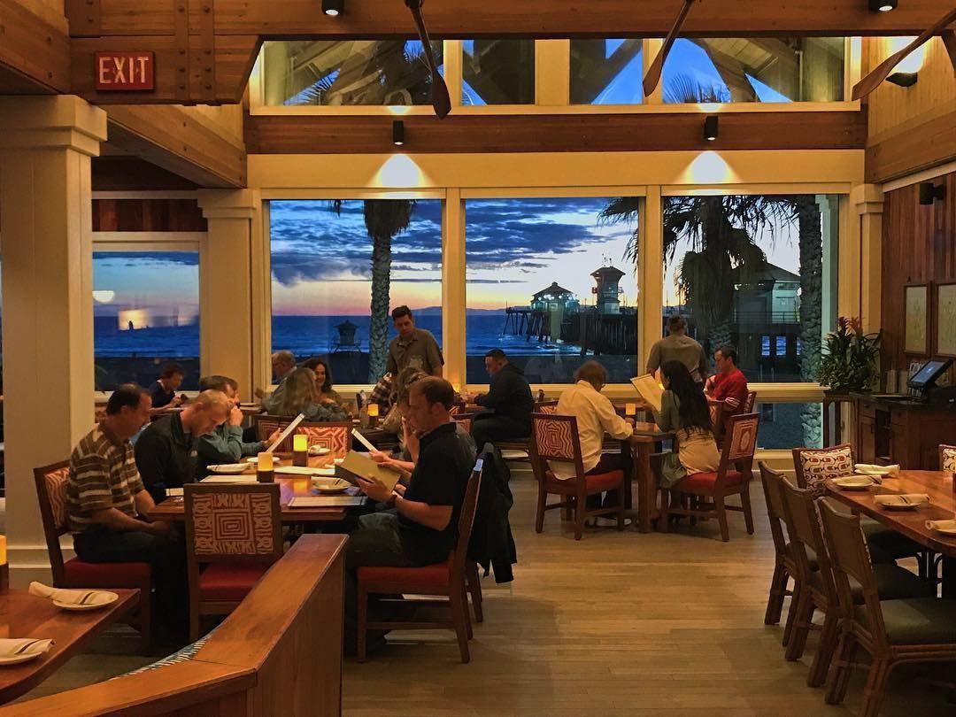 Dukes In Huntington Beach Ocean View Restaurant California