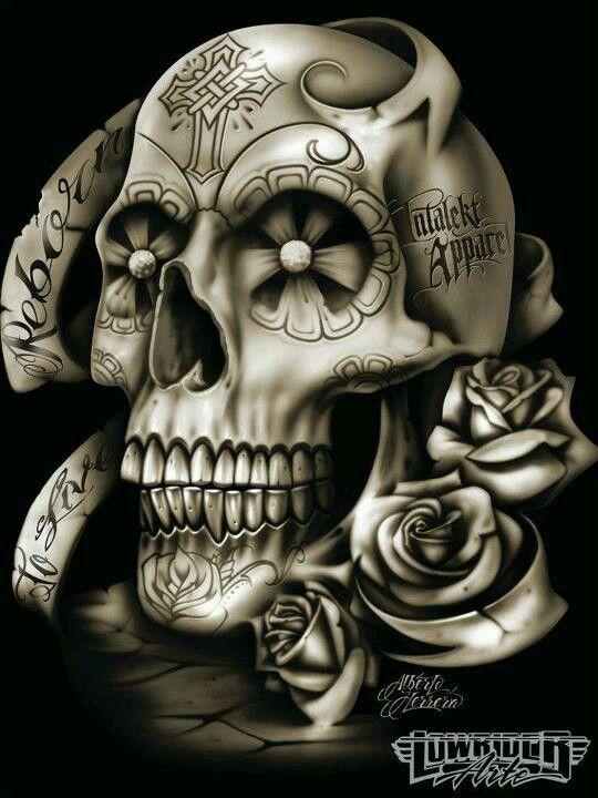 Pin By Mota Santos On Skulls Skull Skull Art Skull Tattoos