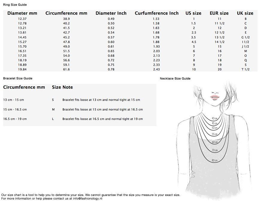 necklace lengths chart Google претрага (With images