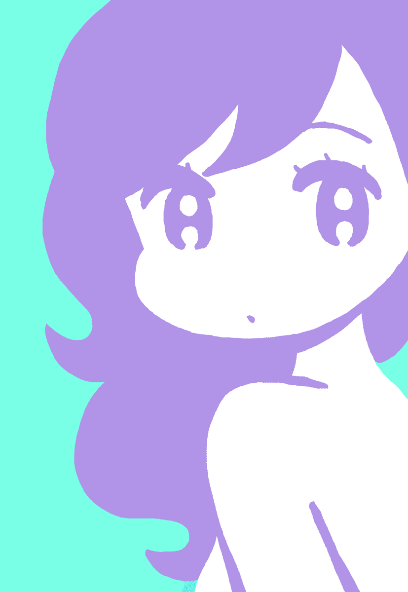 Practice Cute Art Anime Pirate Girl Cartoon Design