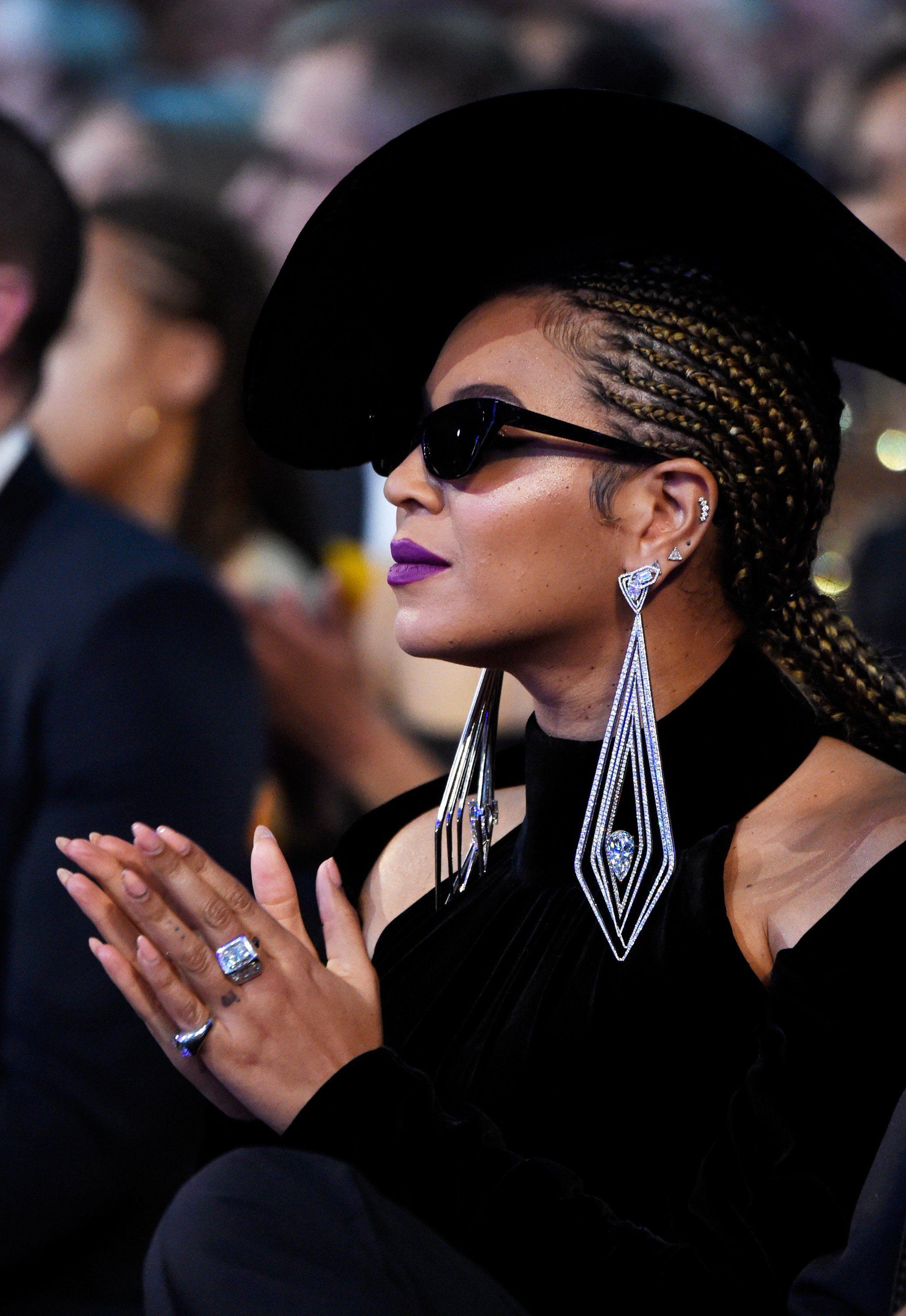 Beyonce Big Earrings