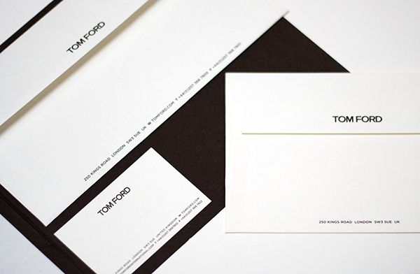 Presentation Tom Ford Booklet Cerca Con Google Stationery