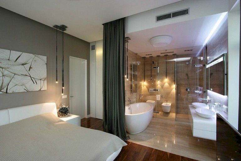 59 Marvelous Open Bathroom Concept For Master Bedrooms Decor Ideas Page 24 Of 61 Small Apartment Bathroom Open Bathroom Master Bedrooms Decor