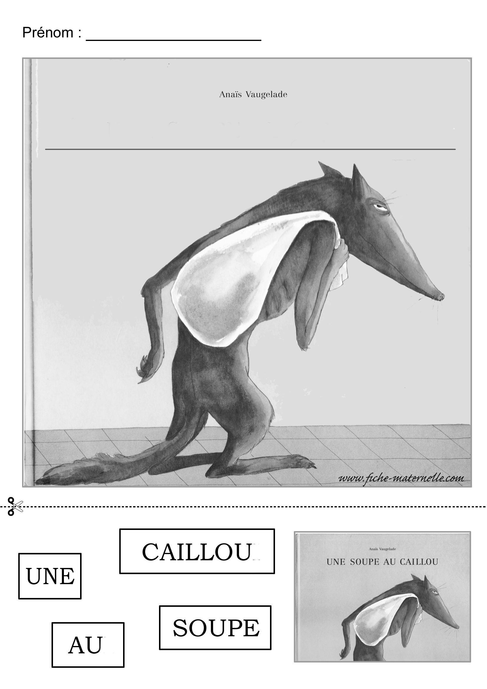 La Soupe Au Caillou Maternelle : soupe, caillou, maternelle, Soupe, Caillou, Travailler, Phrase., Cailloux,, Thème, Maternelle,, Maternelle