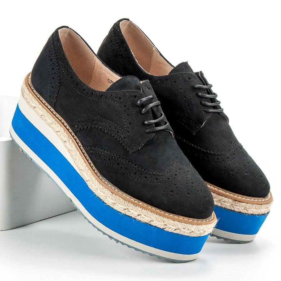 Corina Polbuty Na Koturnie Fashion Czarne Dress Shoes Men Oxford Shoes Cole Haan Zerogrand Oxford