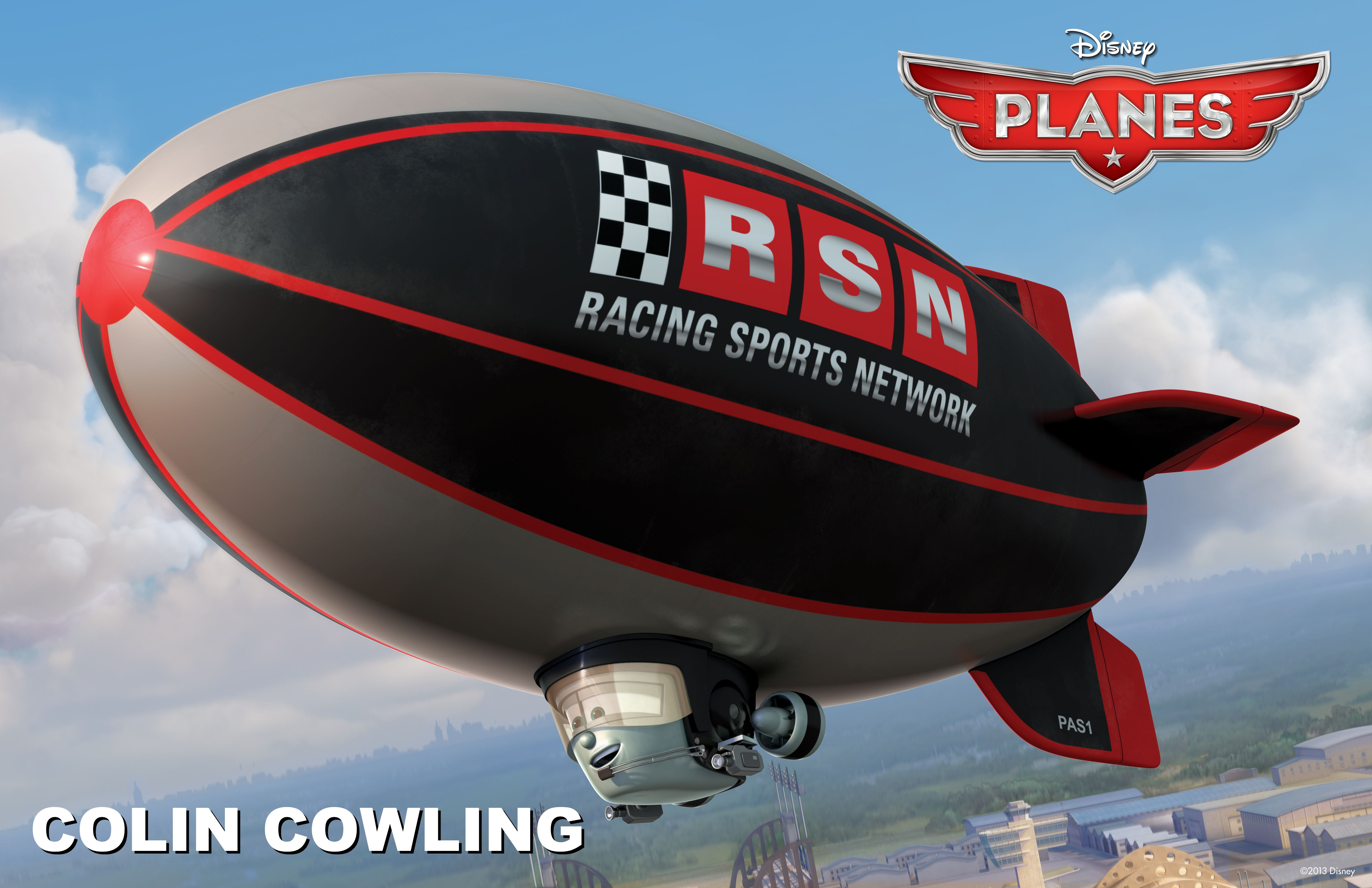 Meet Colin Cowling The Racing Sports Network S Rsn Eye In The Sky Disney Cars Movie Disney Planes Planes Movie