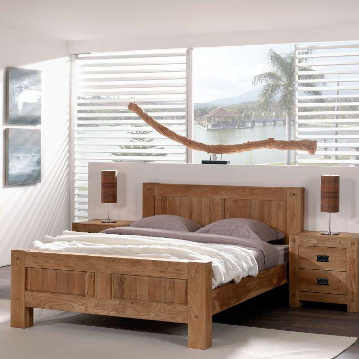 Chambre Lits 2 Places En Bois Home Decor Home Furniture