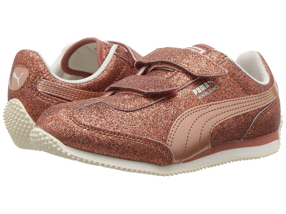 Puma Kids Whirlwind Glitz V (Little Kid Big Kid) Girls Shoes ... 16c8f50d7