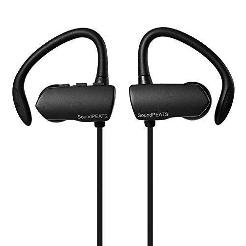 Soundpeats Q9a Wireless Bluetooth Sweatproof Secure Fit Earbuds Black Soundpeats Http Www Amazon Com Earbuds Bluetooth Earbuds Sports Sweatproof Headphones