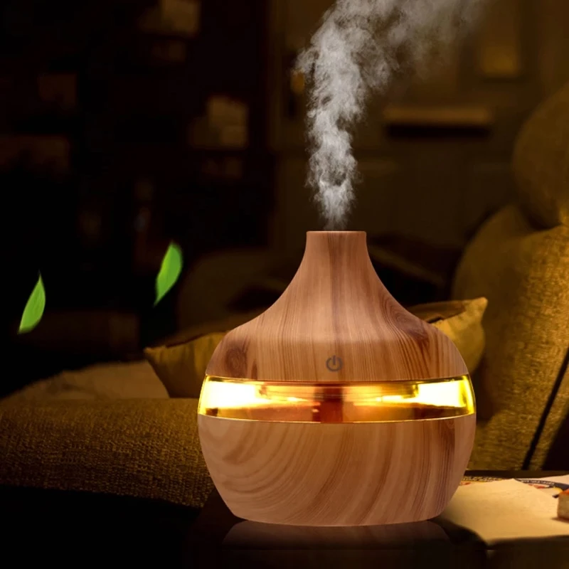 Aroma Oil Diffuser Ultrasonic Cool Mist Air Humidifier and