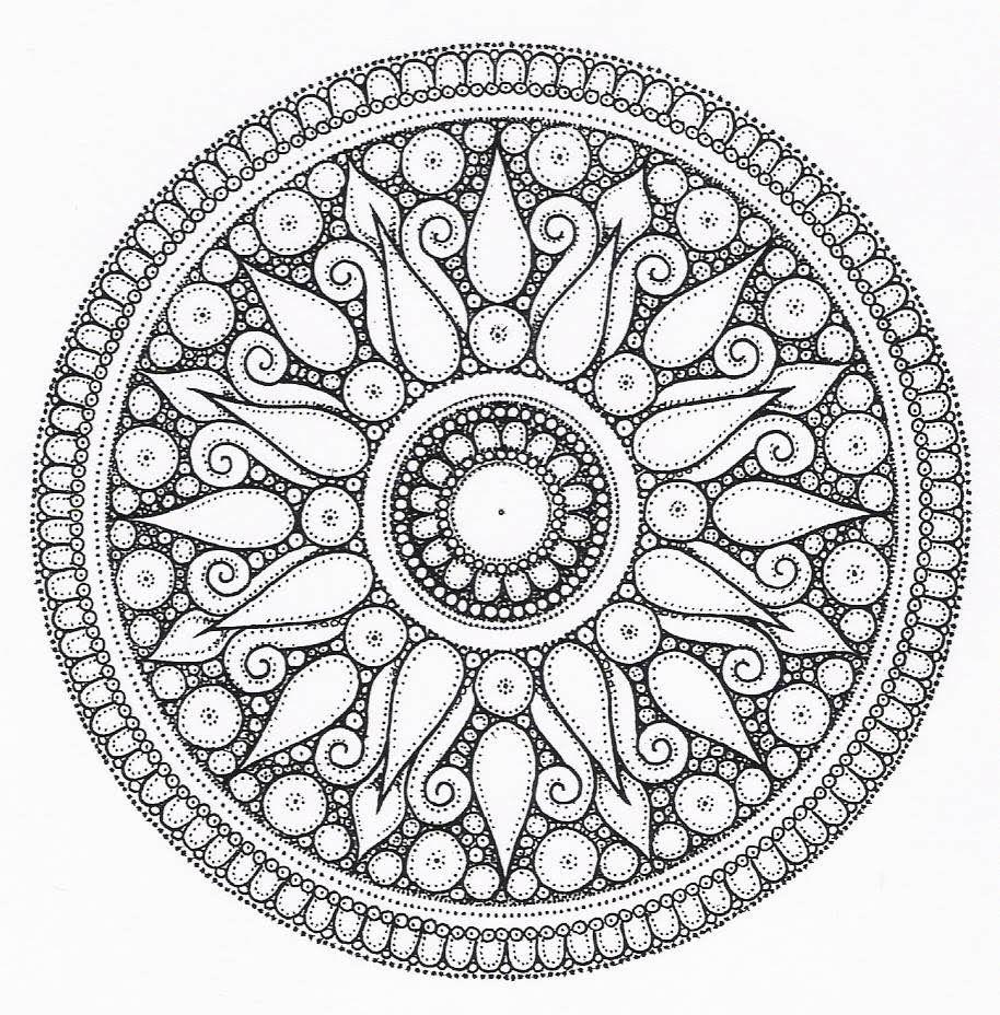 Mandala tattoo design The mandala appears in all aspects of life ...