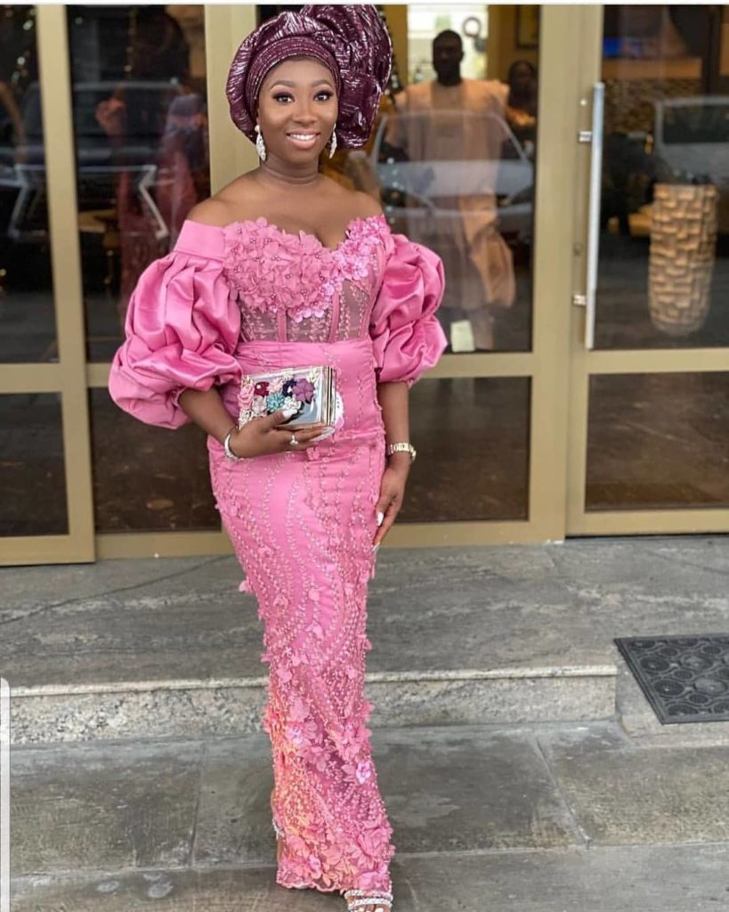 Asoebibella Com Presents The Latest Aso Ebi Styles Vol 318 Bellanaija In 2020 Lace Gown Styles Lace Fashion African Print Fashion Dresses