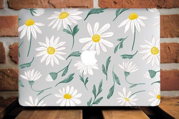 Daisy Flowers Macbook Pro 13  Case Floral Macbook Air 13 2018 | Etsy