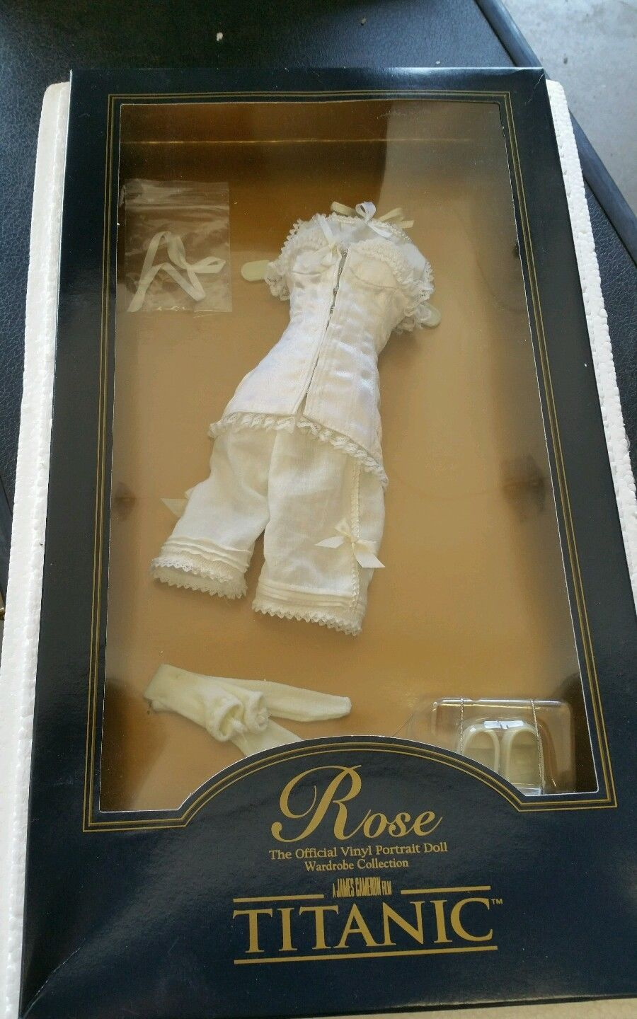 Franklin Mint Titanic Official Corset Ensemble For Official Titanic Rose Doll
