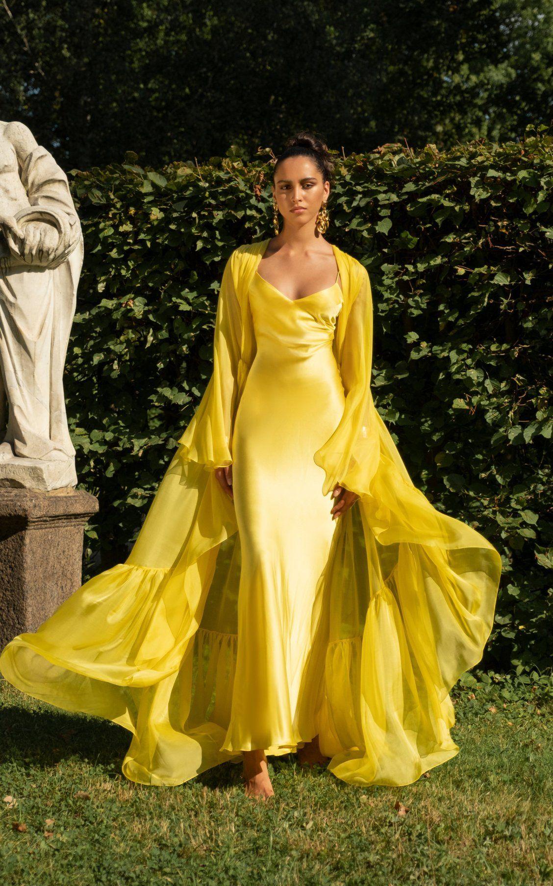 9381b29aa209 Draped Silk Sheath Dress by Rasario SS19   Party Dressing in 2019 ...