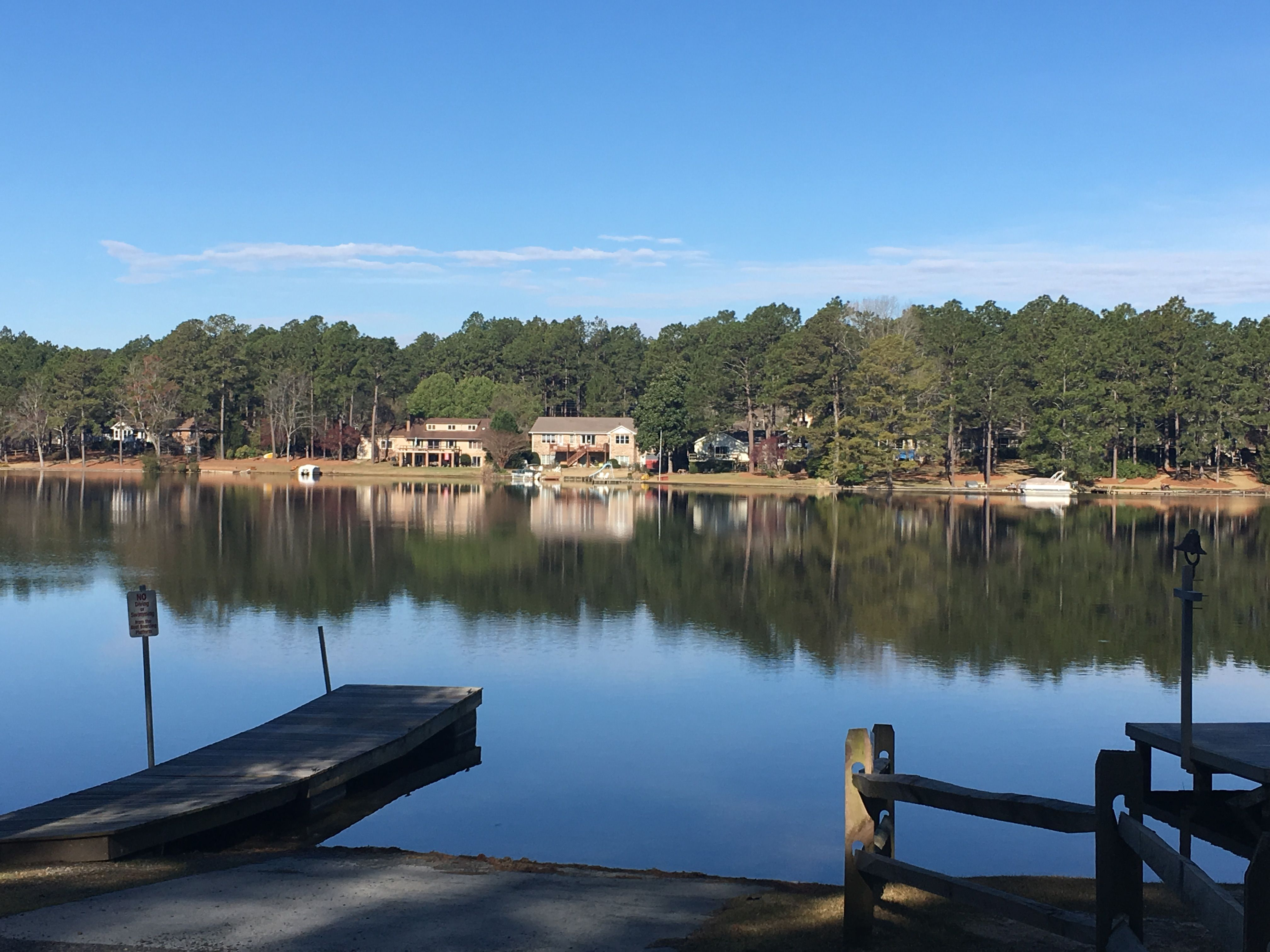 Image result for whispering pines nc lake