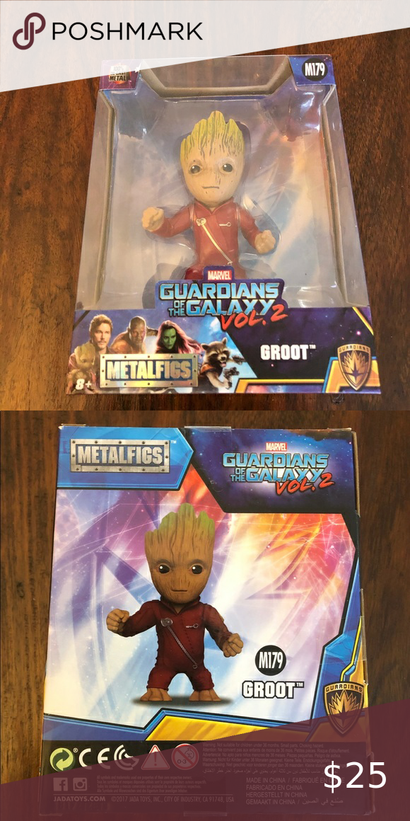 METALFIGS GROOT, M179, Guardians of the Galaxy METALFIGS GROOT, M179, Guardians of the Galaxy, Vol 2, JadaToys, Brand New. Jada Toys Other
