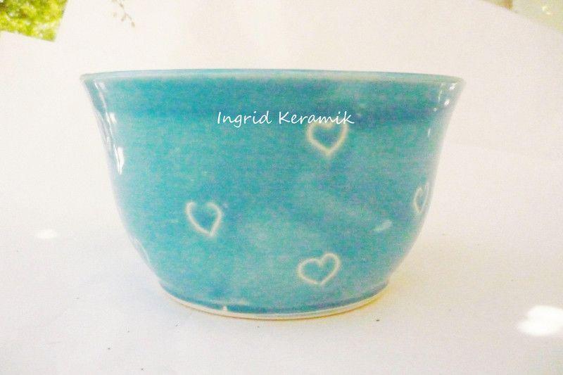 Müslischüssel von Ingrid-Keramik auf DaWanda.com