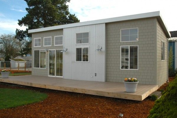 Ideabox Modern Pre Fab Park Model Home Prefab Homes Park Model Homes Small House