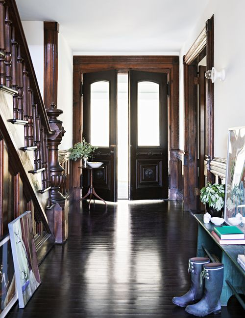 Victorian Home Foyer : Modern victorian home in upstate new york