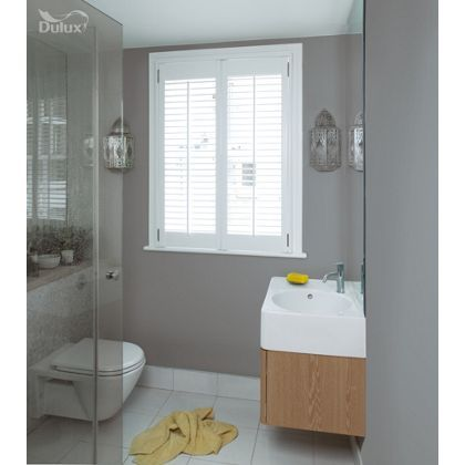 Dulux Bathroom Chic Shadow Soft Sheen Emulsion Paint 2 5l Dulux Chic Shadow