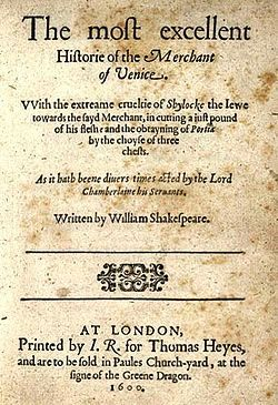 The Merchant Of Venice Wikipedia Free Encyclopedia Romantic Love Quote Merchants Critical Essay