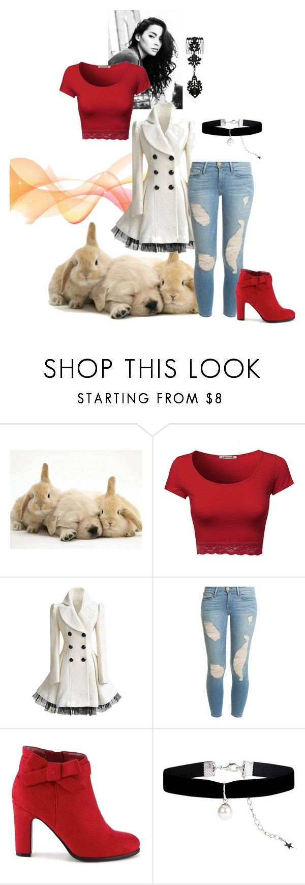 """""""Waiting For You"""" by sushi-surfer ❤ liked on Polyvore featuring Frame Denim, Impo and Monsoon"""