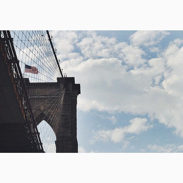 Wishing today's weather was as beautiful as yesterday's! #DUMBO #Brooklyn #brooklynbridge #DLS #NYC #clouds www.dumbolifeandstyle.com