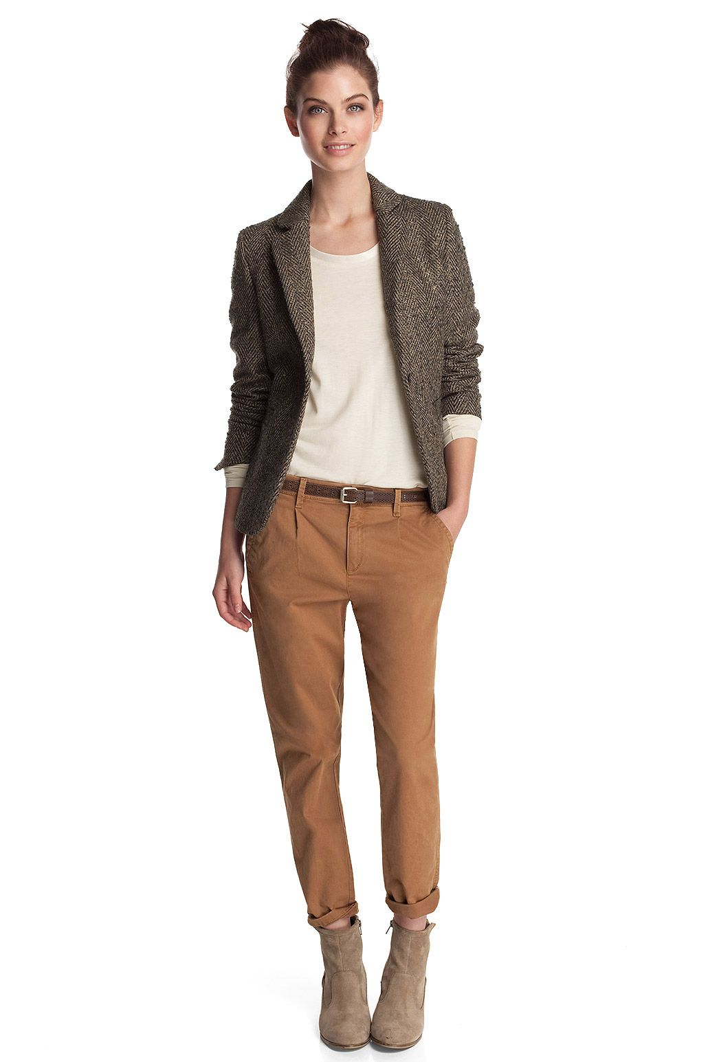 chino and blazer esprit | Clothes\u00264customuzation