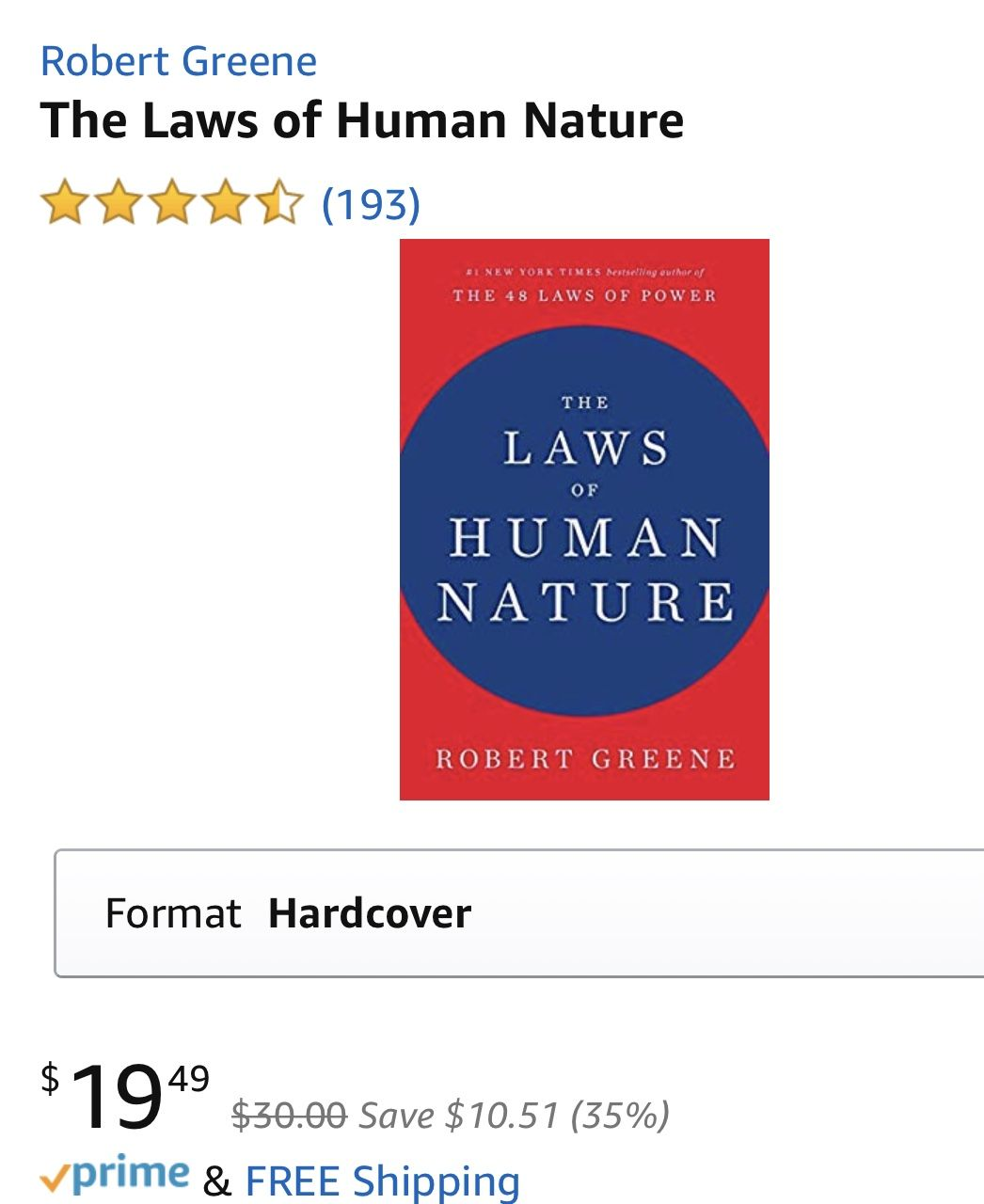 Pin By Miranda On Books 48 Laws Of Power Human Nature Hardcover