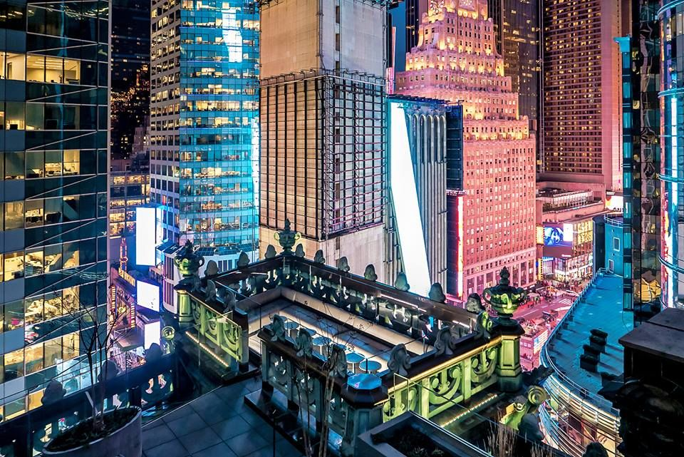 NYC's Knickerbocker Hotel Opens Haute Rooftop Cigar Lounge