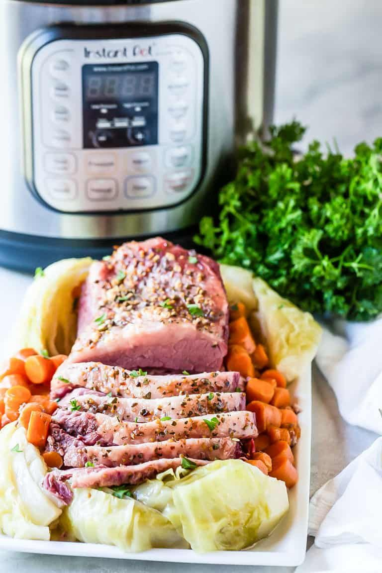 This Instant Pot Corned Beef and Cabbage recipe is ready