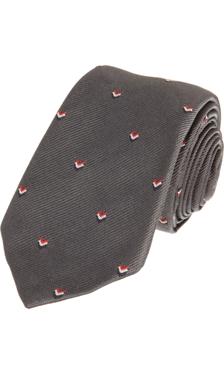 Thom Browne Mini Chevron Tie